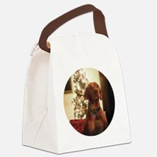 Ornament_Round_Henry_1 Canvas Lunch Bag