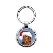 Ornament_Round_Rogan_1 Round Keychain