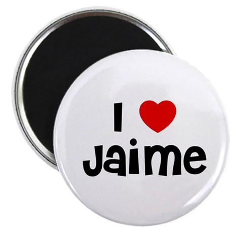 """I * Jaime 2.25"""" Magnet (10 pack)"""