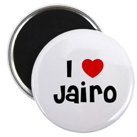 """I * Jairo 2.25"""" Magnet (10 pack)"""