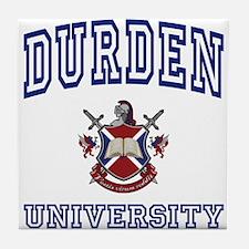DURDEN University Tile Coaster
