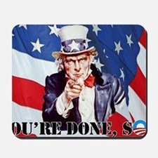 UNCLE SAM DONE IN ONE YS Mousepad