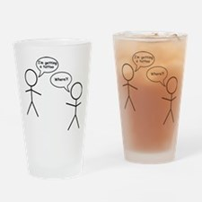 tattoo Drinking Glass