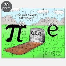 Pi_72 QED Gravestone (5.75x4.5 Color) Puzzle