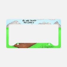 Pi_72 QED Gravestone (5.75x4. License Plate Holder
