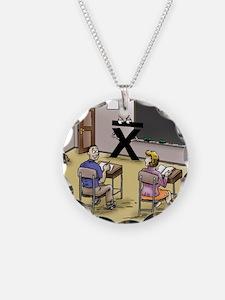 Pi_69 Mean Teacher (20x16 Co Necklace