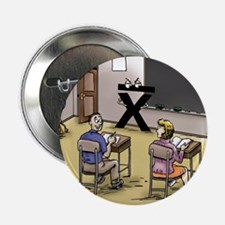 "Pi_69 Mean Teacher (20x16 Color) 2.25"" Button"