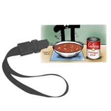 Pi_76 Variable Soup (10x10 Color Luggage Tag