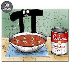 Pi_76 Variable Soup (10x10 Color) Puzzle