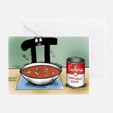 Pi_76 Variable Soup (20x16 Color) Greeting Card