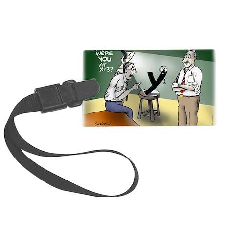 Pi_79 Interrogation (20x16 Color Large Luggage Tag