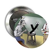 "Pi_79 Interrogation (5.75x4.5 Color) 2.25"" Button"