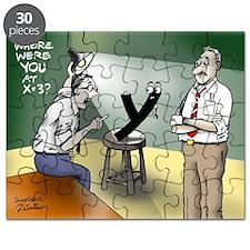 Pi_79 Interrogation (5.75x4.5 Color) Puzzle