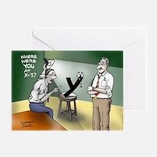 Pi_79 Interrogation (11.5x9 Color) Greeting Card