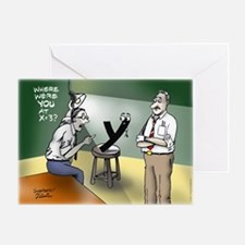 Pi_79 Interrogation (10x10 Color) Greeting Card
