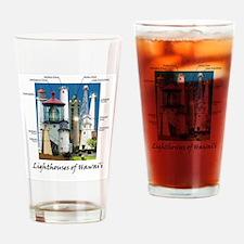 Hawaii fr posterr 9x12 Drinking Glass