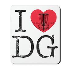 I Heart DG Mousepad