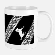 I you werent riding my ass (dog) bumper Mug