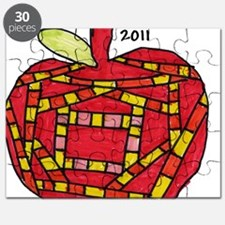 047 Apple Ornament Puzzle