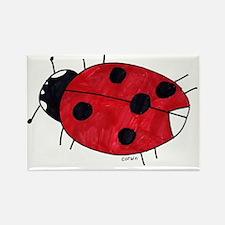 Ladybug Rectangle Magnet