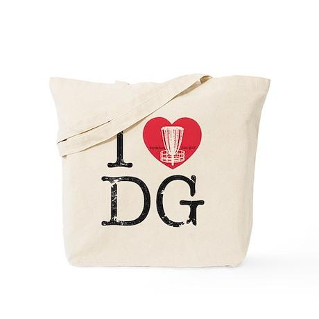 I Heart DG2 Tote Bag
