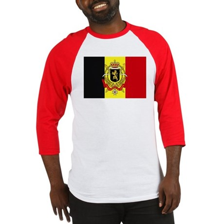 Belgium w/ coat of arms Baseball Jersey