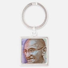 Gandhi Square Keychain