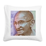 Gandhi Square Canvas Pillows