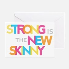 Strong is the New Skinny - Color Mer Greeting Card