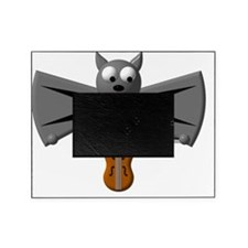Cute Vampire Bat with violin Picture Frame