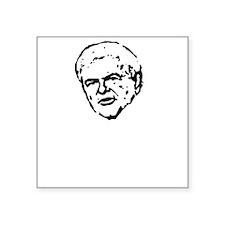 "NEWTAULDTERERDARK Square Sticker 3"" x 3"""