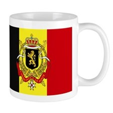 Belgium w/ coat of arms Small Mug