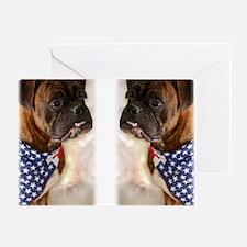 boxer flip flops Greeting Card