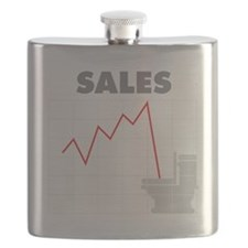 Sales in the Toilet Flask