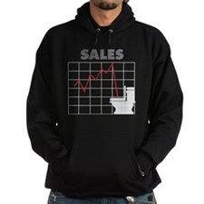 Sales in the Toilet Hoodie