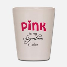 Pink Shot Glass