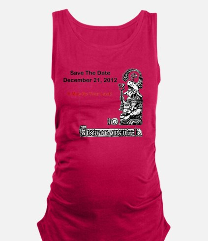 Save The Date 12212012 Maternity Tank Top