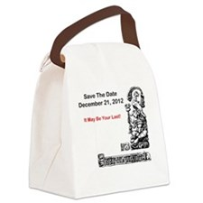 Save The Date 12212012 Canvas Lunch Bag