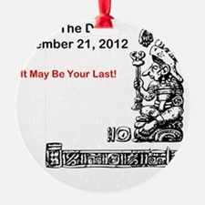 Save The Date 12212012 Ornament