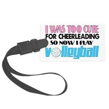 volleyball cute2 Luggage Tag