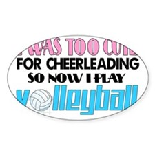 volleyball cute2 Decal