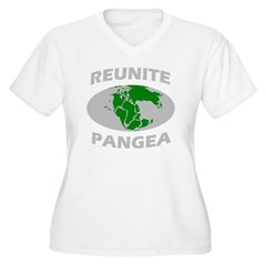reunitepangeadark Women's Plus Size V-Neck T-Shirt