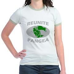 reunitepangeadark Jr. Ringer T-Shirt