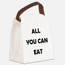 all_you_can_eat-thng Canvas Lunch Bag