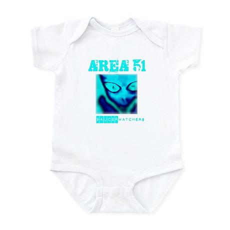 Area 51 Saucer Watchers Infant Bodysuit