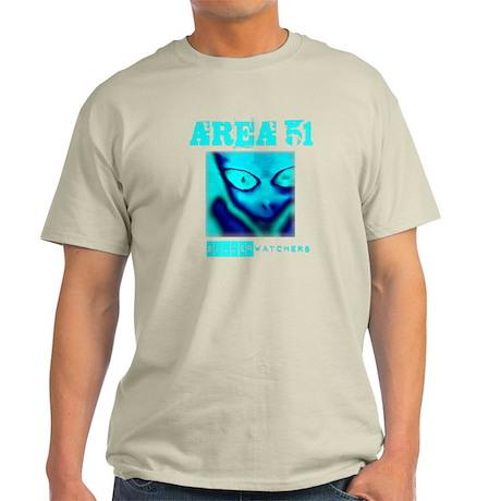 Area 51 Saucer Watchers Light T-Shirt