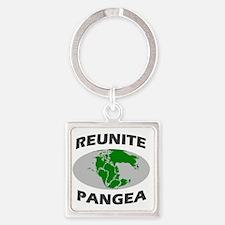 reunitepangea2 Square Keychain