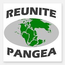 "reunitepangea2 Square Car Magnet 3"" x 3"""
