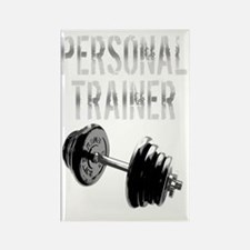 Personal Trainer Weight Training  Rectangle Magnet