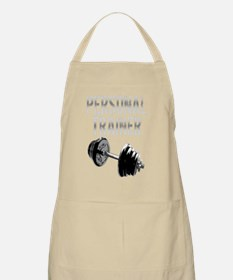 Personal Trainer Weight Training -dark copy Apron